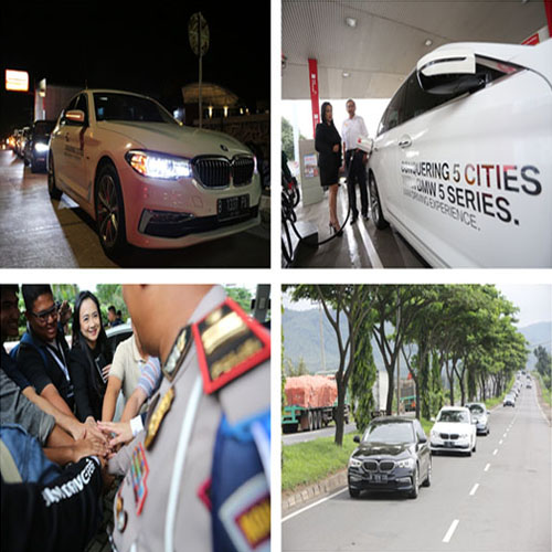BMW : Drive 5 Cities with 5 Series